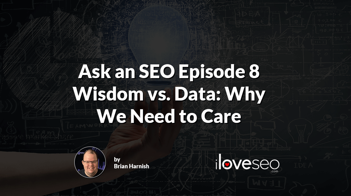 Wisdom vs Data: Why We Need to Care